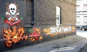 Graffiti Die Currywurst
