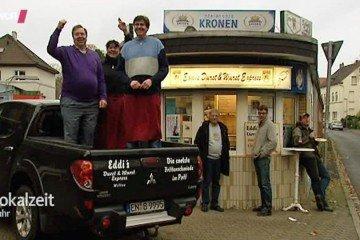 Eddi's Durst und Wurst Express mit Gästen