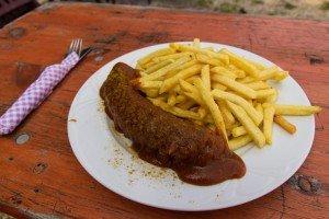 Currywurst bei Sigrids Futterhäusel
