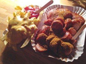 Currywurst der Wursterei in Berlin