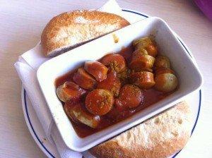Currywurst auf der W.D.R. Fähre - Erneuter Test