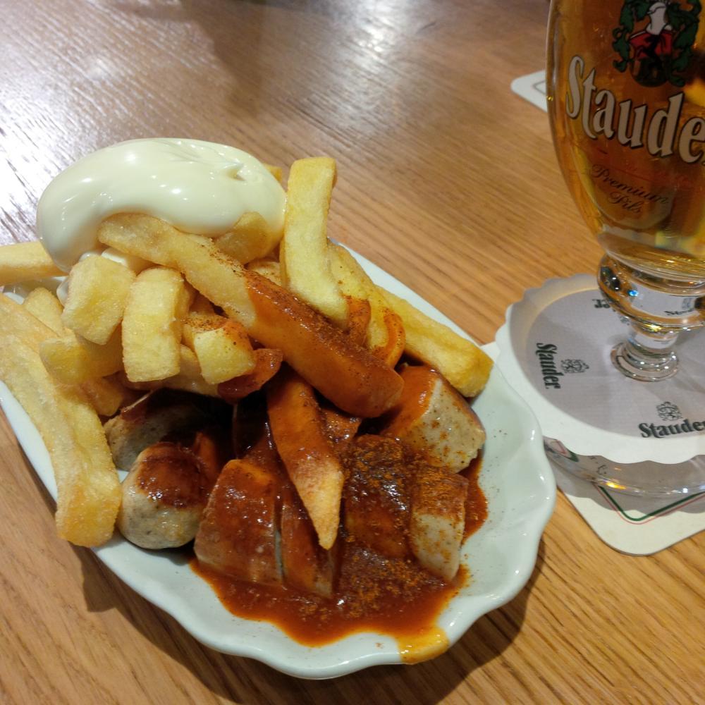 Müllers Rü müllers auf der rü | currywurst test